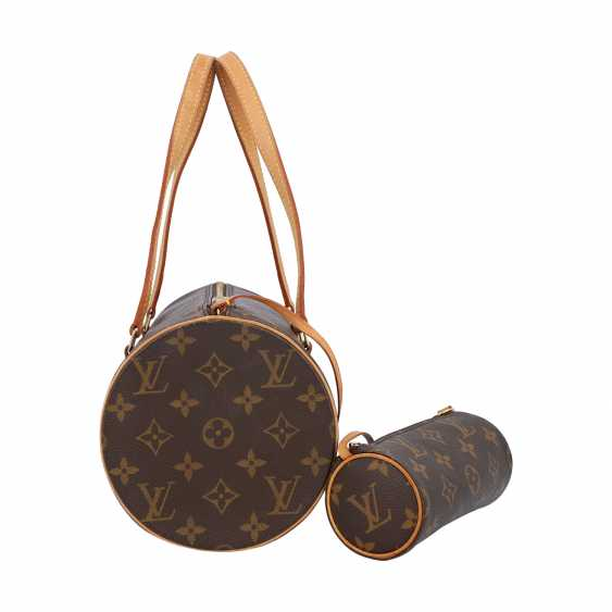 """LOUIS VUITTON shoulder bag """"PAPILLON"""", in the collection in 2004. - photo 3"""