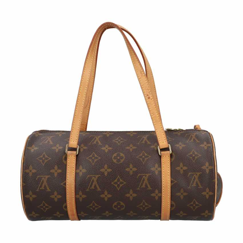 """LOUIS VUITTON shoulder bag """"PAPILLON"""", in the collection in 2004. - photo 4"""
