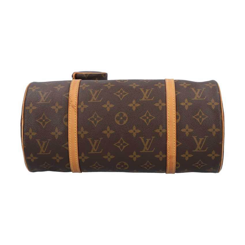 """LOUIS VUITTON shoulder bag """"PAPILLON"""", in the collection in 2004. - photo 5"""