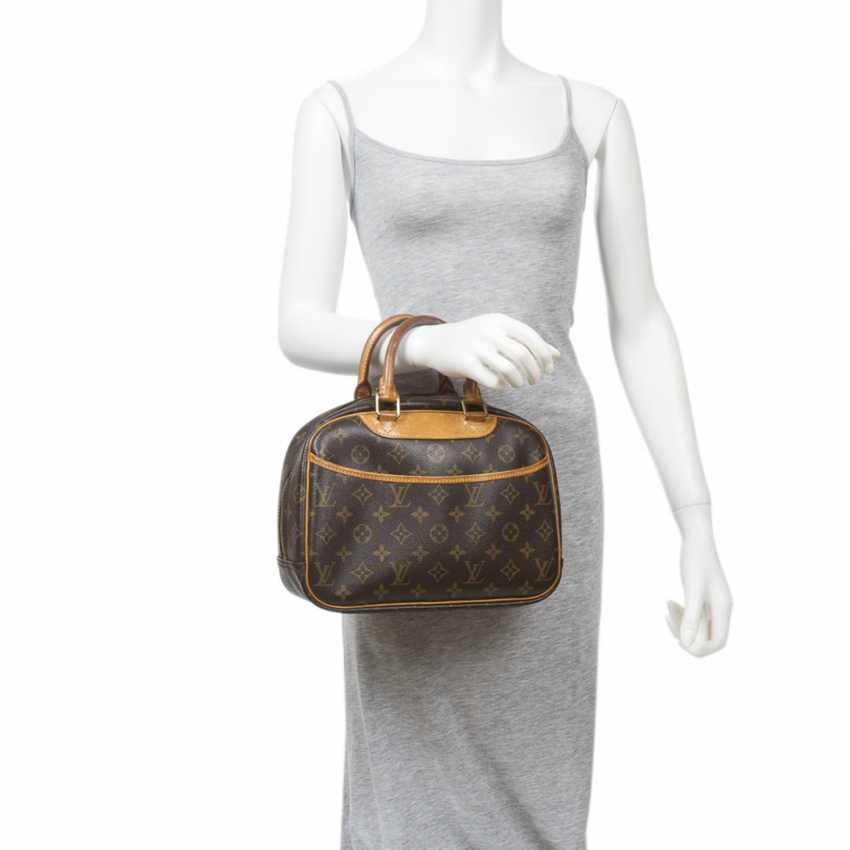 """LOUIS VUITTON handbag """"TROUVILLE PM"""", collection 2004. - photo 2"""