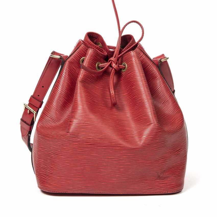 """LOUIS VUITTON VINTAGE bag """"NOÉ PM"""", collection 1995. - photo 1"""