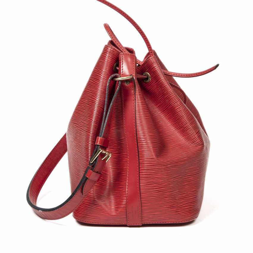 """LOUIS VUITTON VINTAGE bag """"NOÉ PM"""", collection 1995. - photo 4"""