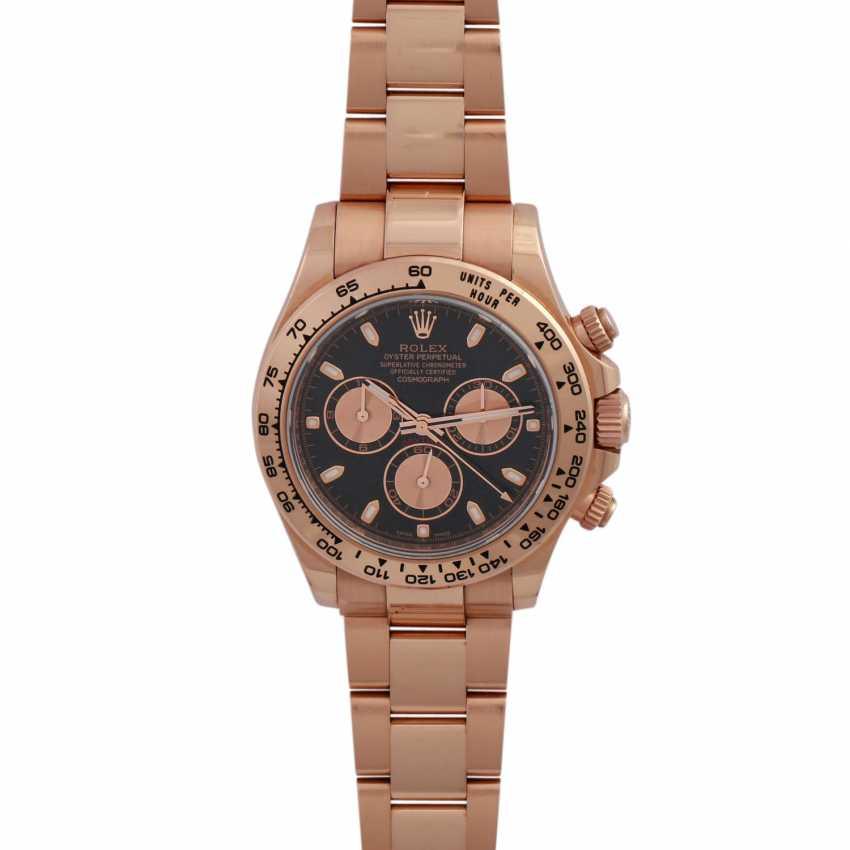 ROLEX Daytona Chronograph Men's Watch, Ref. 116505. Rose Gold 18K - photo 1