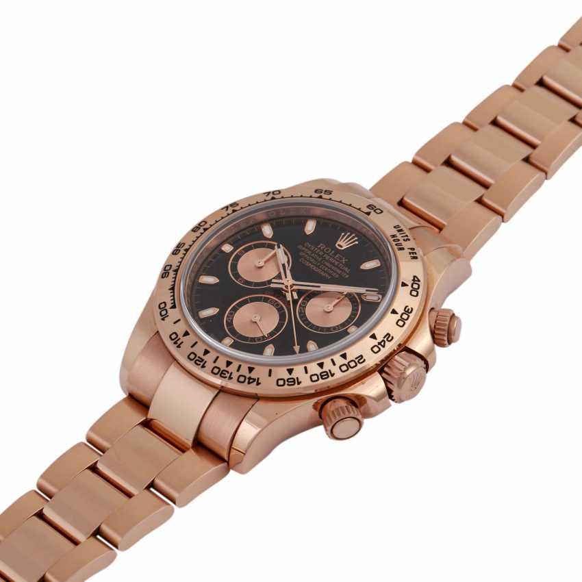 ROLEX Daytona Chronograph Men's Watch, Ref. 116505. Rose Gold 18K - photo 4