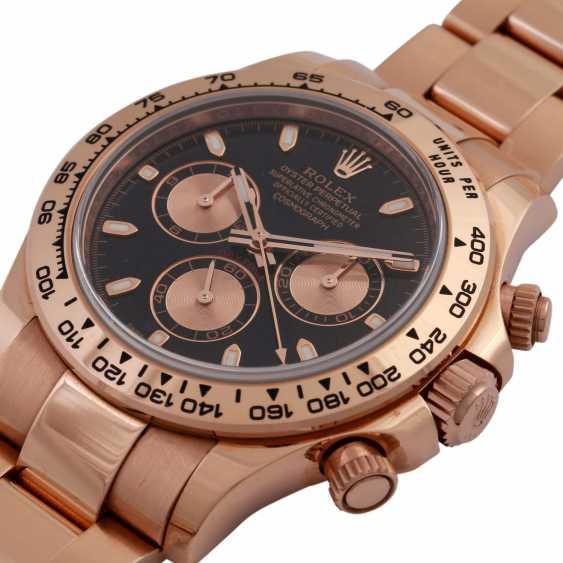 ROLEX Daytona Chronograph Men's Watch, Ref. 116505. Rose Gold 18K - photo 5