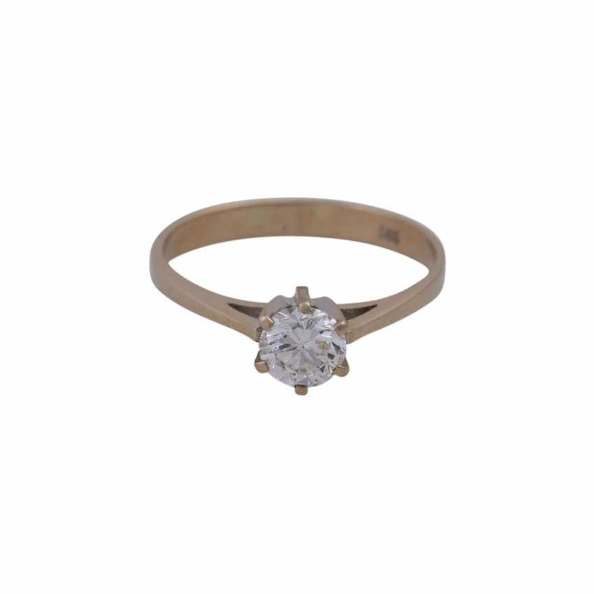 Ring mit Brillant ca. 0,75ct - photo 1