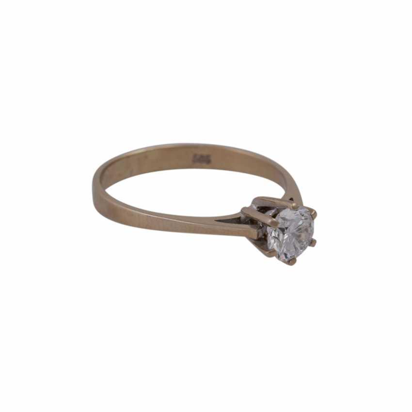 Ring mit Brillant ca. 0,75ct - photo 2
