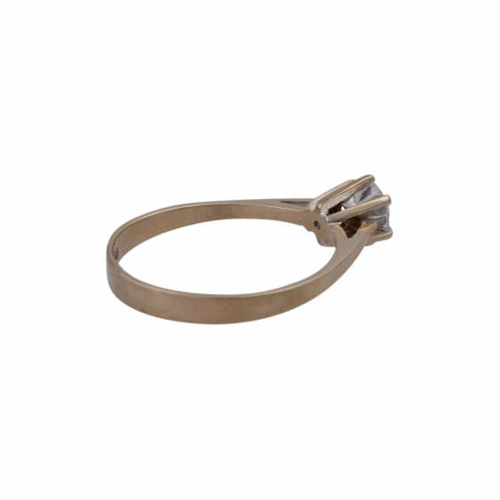 Ring mit Brillant ca. 0,75ct - photo 3
