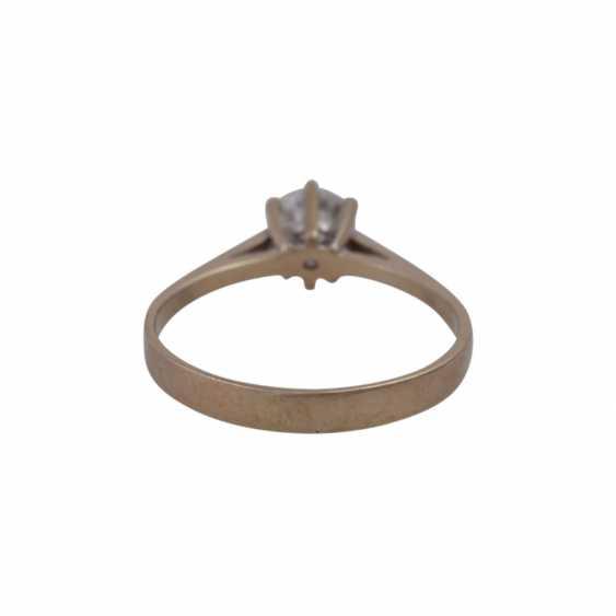 Ring mit Brillant ca. 0,75ct - photo 4
