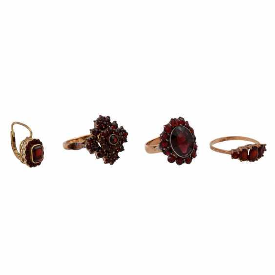 Jewelry mixed lot of 8K, 10-piece, - photo 2