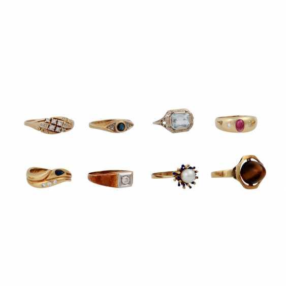 Jewelry 14K, 8 vintage piece, - photo 2