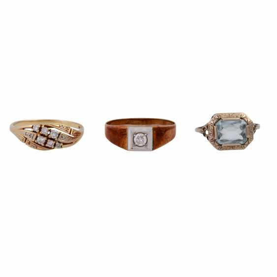 Jewelry 14K, 8 vintage piece, - photo 3