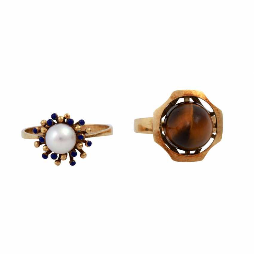 Jewelry 14K, 8 vintage piece, - photo 1