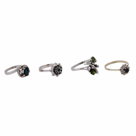 Jewelry 14K, 6 vintage piece, - photo 3