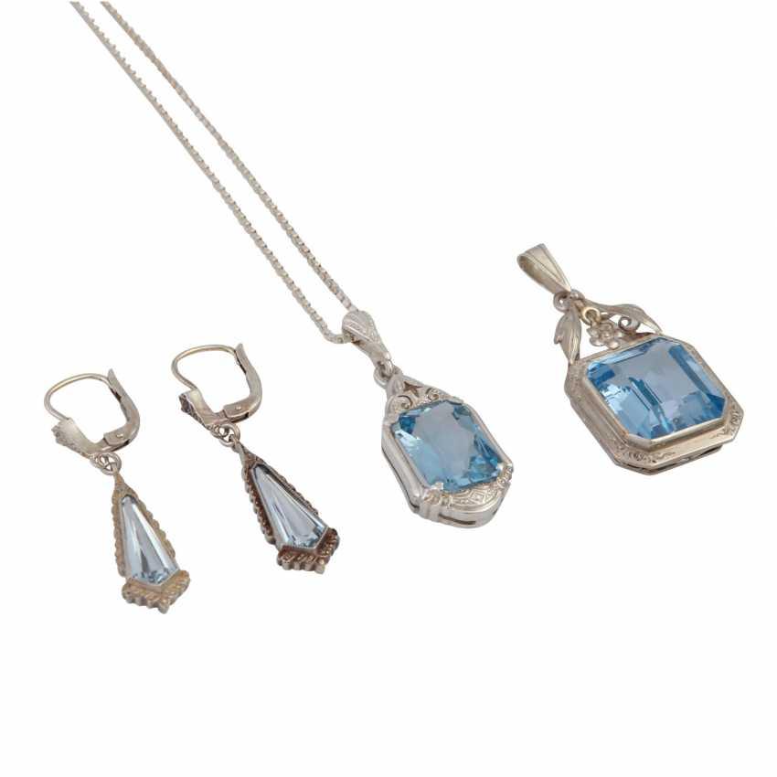 Jewelry mixed lot silver, 7-piece, - photo 2