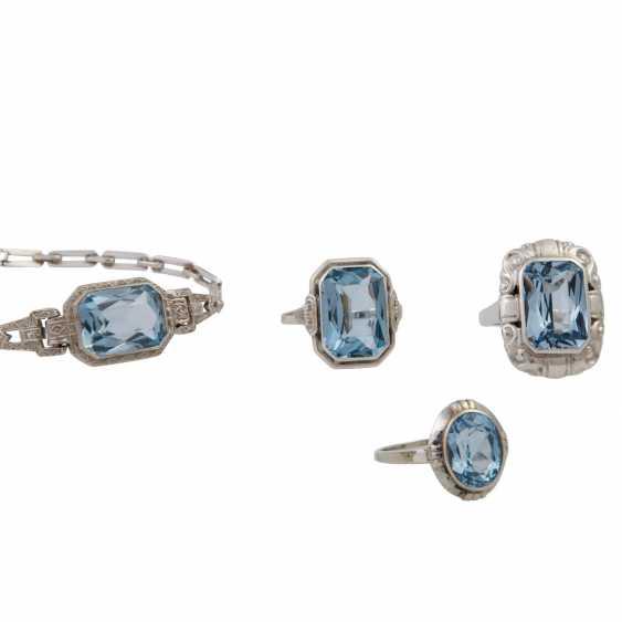 Jewelry mixed lot silver, 7-piece, - photo 3