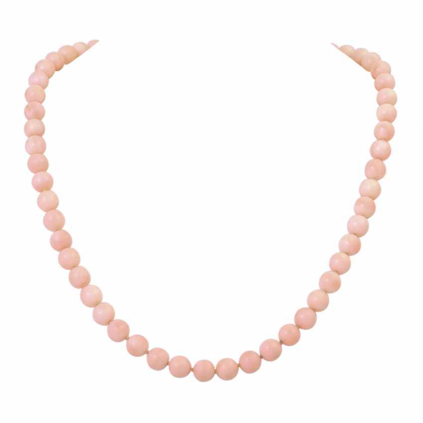 2 piece, salmon pink coral jewelry - photo 2
