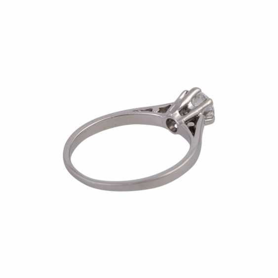 Solitaire ring with 1 diamond approx 0.5 ct - photo 3