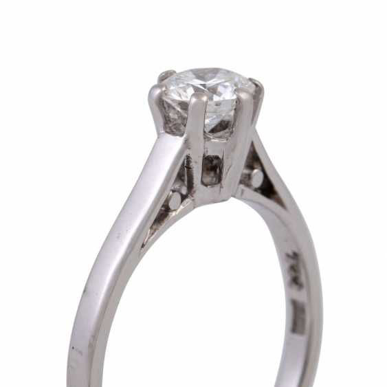 Solitaire ring with 1 diamond approx 0.5 ct - photo 5