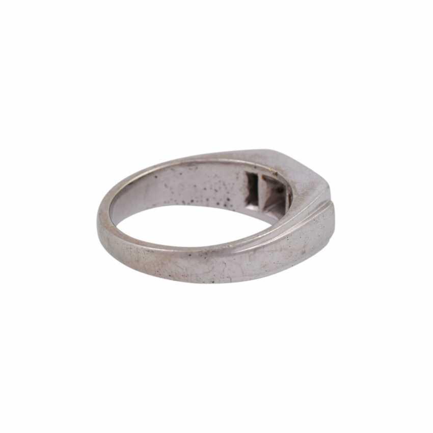 Ring mit Brillant, ca. 0,3 ct, - photo 3