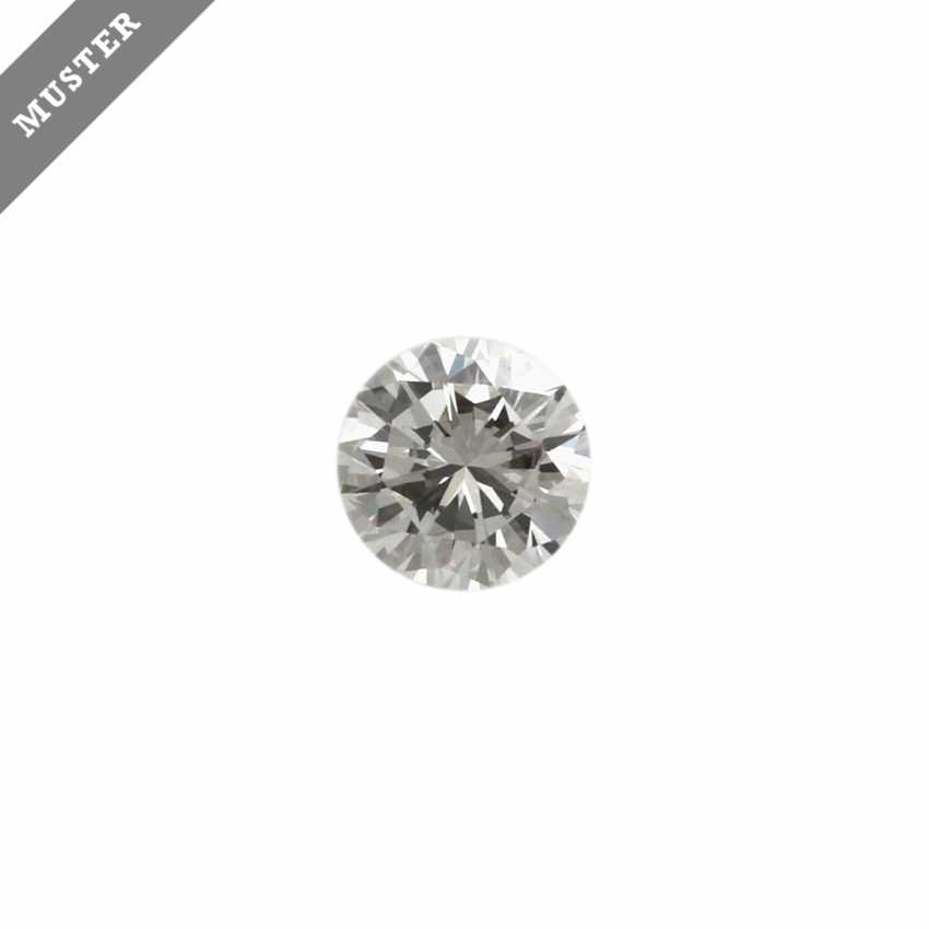 Loser Brillant von 1,0 ct, FW (F)/SI2, - photo 1