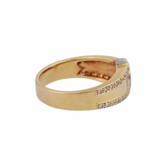 Ring mit Brillanten zusammen ca. 0,55 ct - Foto 3