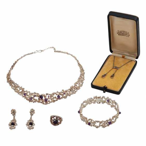 Vintage 4-piece jewelry set - photo 1
