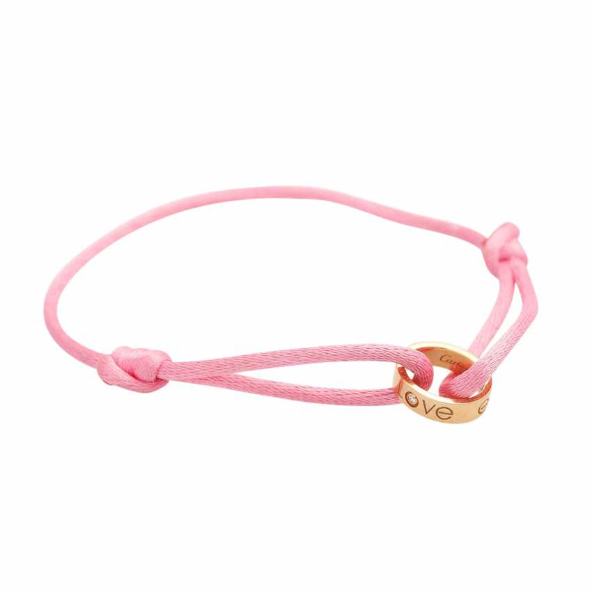 "CARTIER Armband ""LOVE"" in Pink - Foto 2"