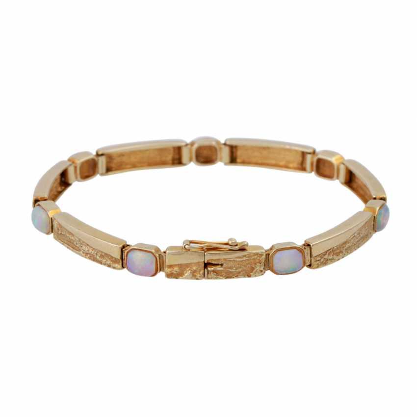 Bracelet with opals - photo 2