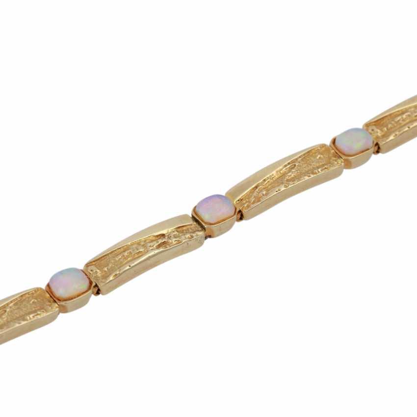 Bracelet with opals - photo 4