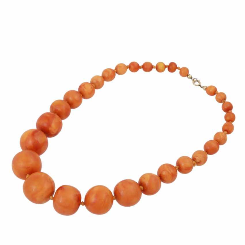 2 piece amber set of jewellery - photo 2