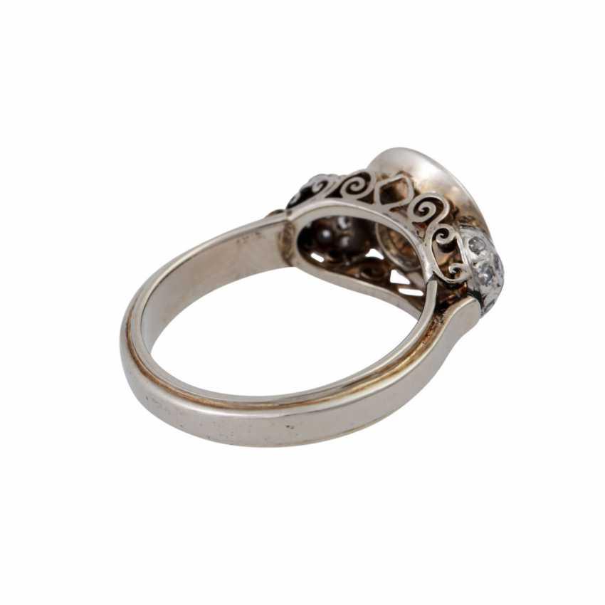 Кольцо с altschliff алмаз, около 0,55 ct, - фото 3