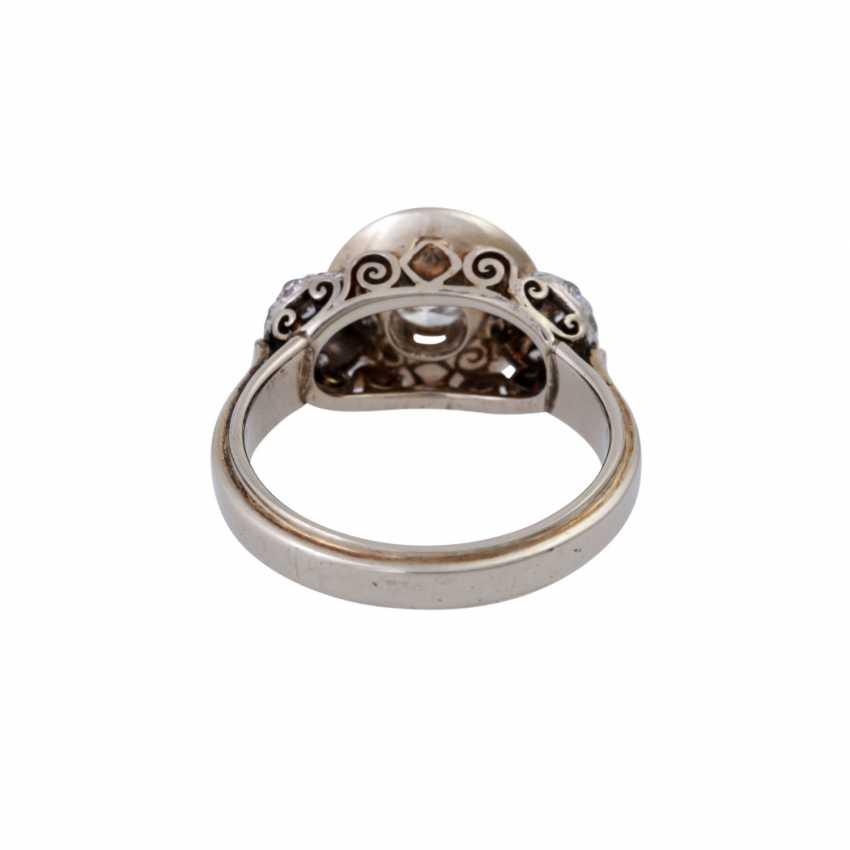 Кольцо с altschliff алмаз, около 0,55 ct, - фото 4