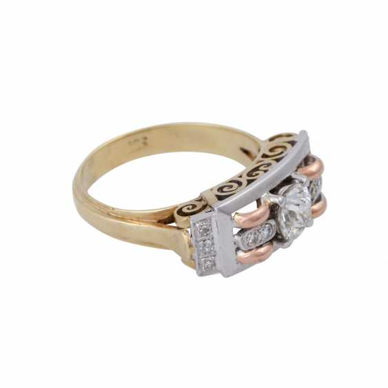 Ring with old European cut diamond, approx 0.5 ct, - photo 2