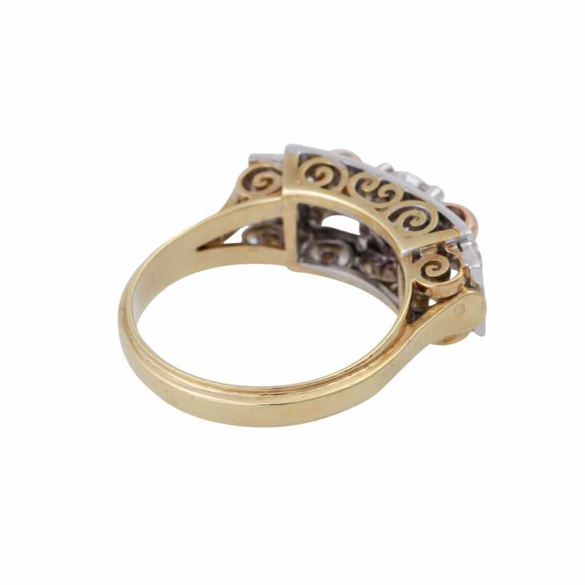 Ring with old European cut diamond, approx 0.5 ct, - photo 3