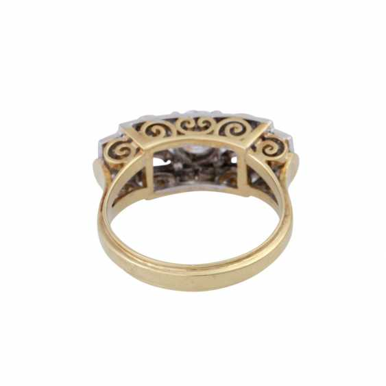 Ring with old European cut diamond, approx 0.5 ct, - photo 4