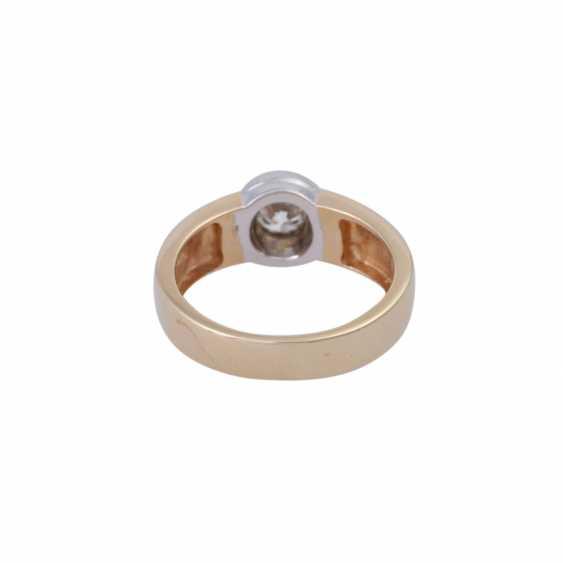 Ring mit Brillant ca. 0,5 ct, - photo 4
