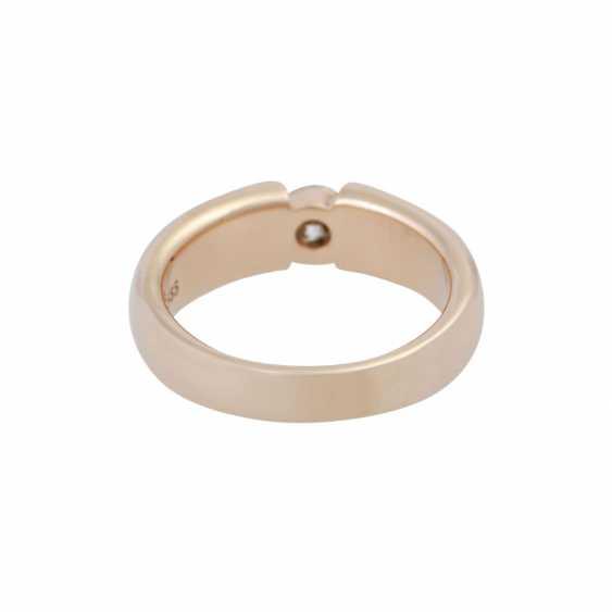 Ring mit Brillant ca. 0,4 ct, - photo 4