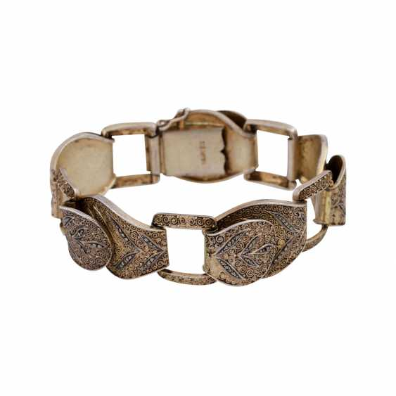 THEODOR FAHRNER bracelet with marcasite trim, - photo 1