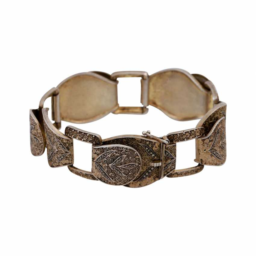 THEODOR FAHRNER bracelet with marcasite trim, - photo 2