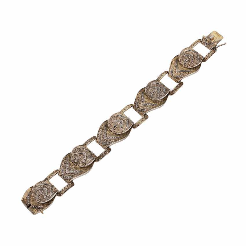 THEODOR FAHRNER bracelet with marcasite trim, - photo 3