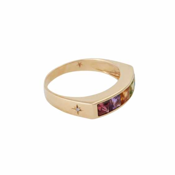 H. STERN Ring with precious stones, - photo 2