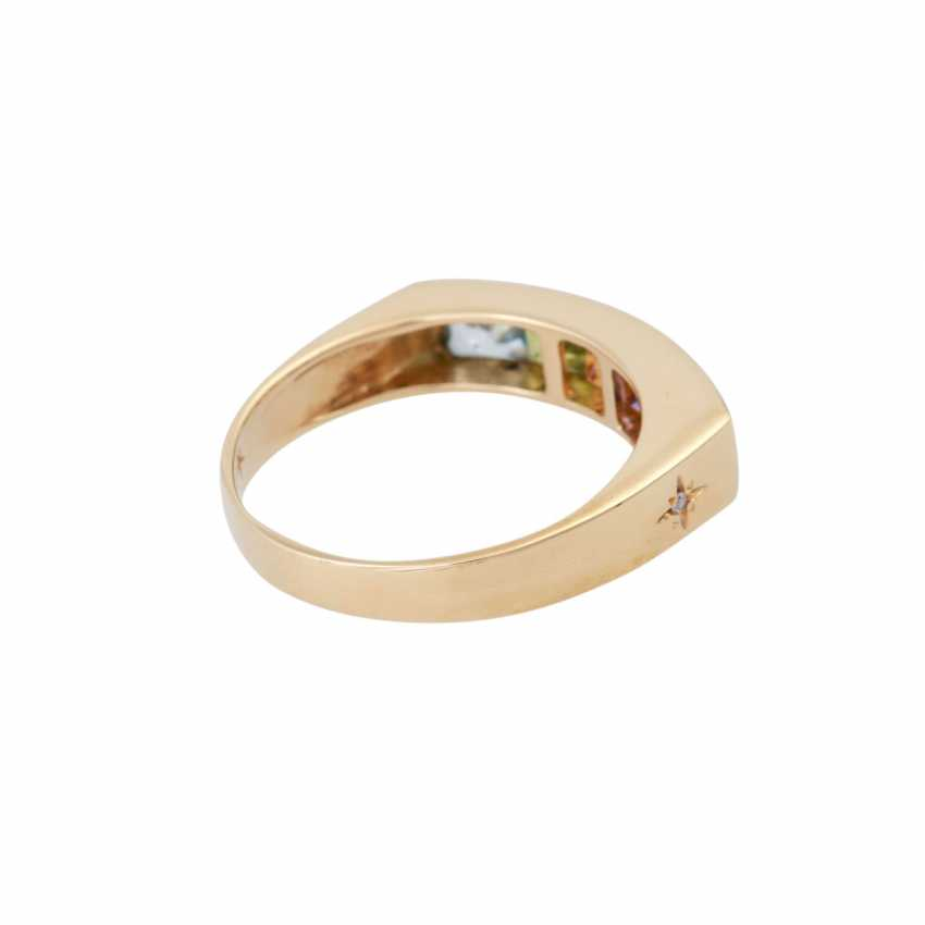 H. STERN Ring with precious stones, - photo 3
