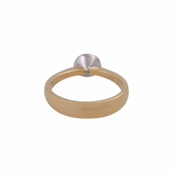Ring with brilliant of 0.50 ct, - photo 4