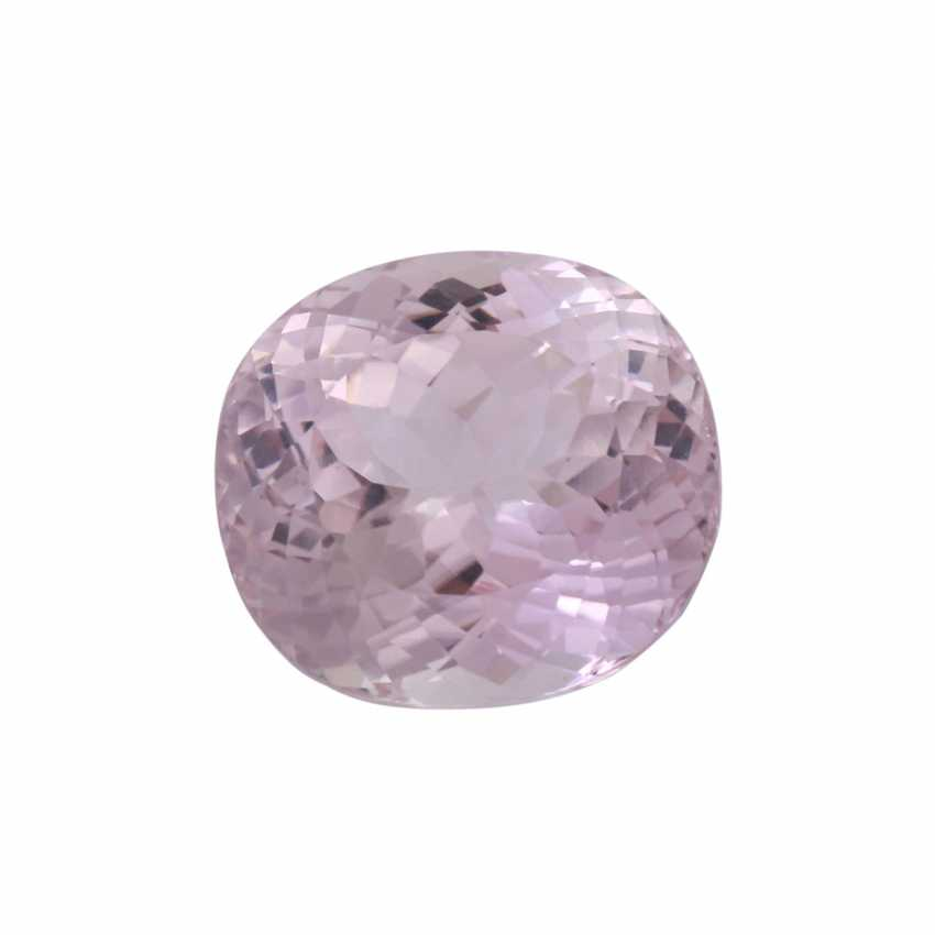 Loose kunzite of approx. 24,2 ct, fac. Oval cut variation - photo 2