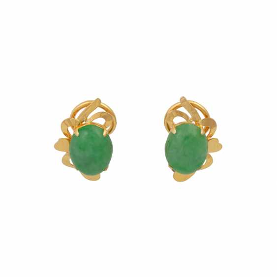 Vintage 2-piece modern jade jewelry, - photo 2