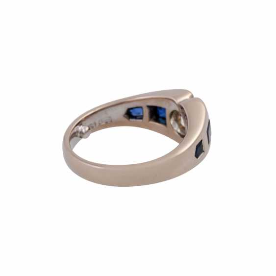 JACOBI Ring with old European cut diamond, about 1.5 ct, - photo 3
