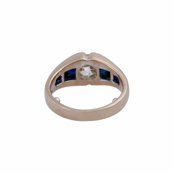 JACOBI Ring with old European cut diamond, about 1.5 ct, - photo 4