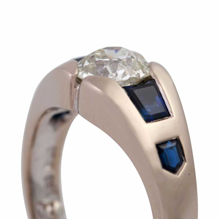 JACOBI Ring with old European cut diamond, about 1.5 ct, - photo 5