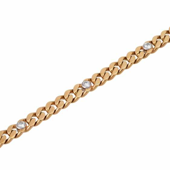 Tank bracelet with brilliant-cut diamonds of approx 0,88 ct - photo 4